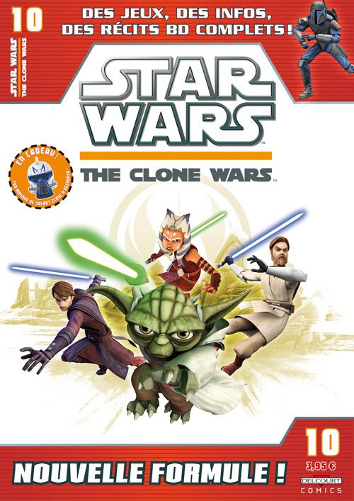 STAR WARS - THE CLONE WARS MAGAZINE #01 - #14 (Kiosque)  1032