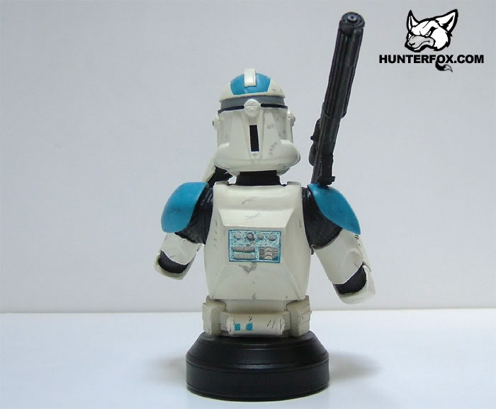 Clone Trooper 501st Special Ops (Blue) ROTS Mini bust 10412