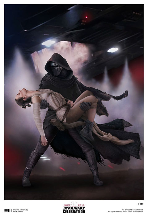 Art Show - Star Wars Celebration Europe Londres 2016 1049