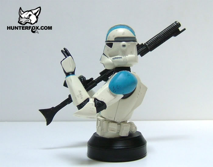 Clone Trooper 501st Special Ops (Blue) ROTS Mini bust 10512