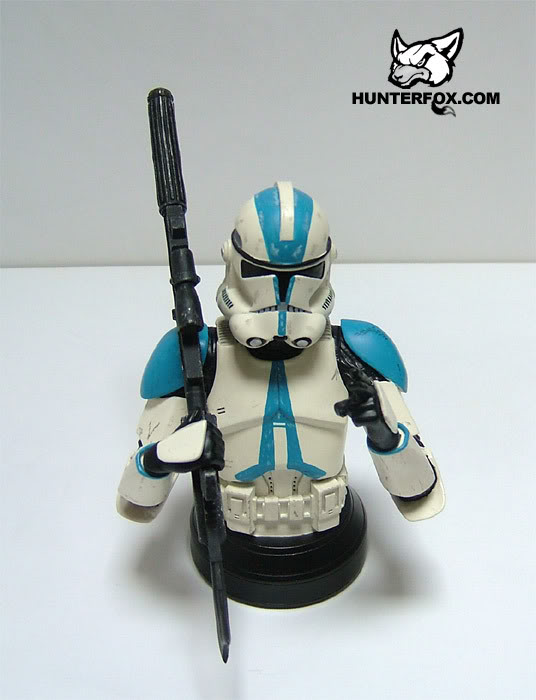 Clone Trooper 501st Special Ops (Blue) ROTS Mini bust 10710