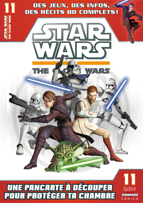 STAR WARS - THE CLONE WARS MAGAZINE #01 - #14 (Kiosque)  1124