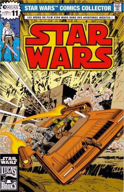 EDITION ATLAS - STAR WARS COMICS COLLECTOR #01 - #20 1125