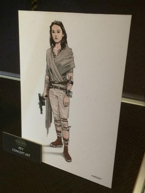 7 - Costumes & Maquettes Star Wars Le Réveil de la Force 1151