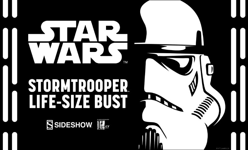 Sideshow Collectibles - Stormtrooper Life-Size Bust 11j10