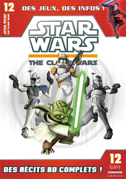 STAR WARS - THE CLONE WARS MAGAZINE #01 - #14 (Kiosque)  1222