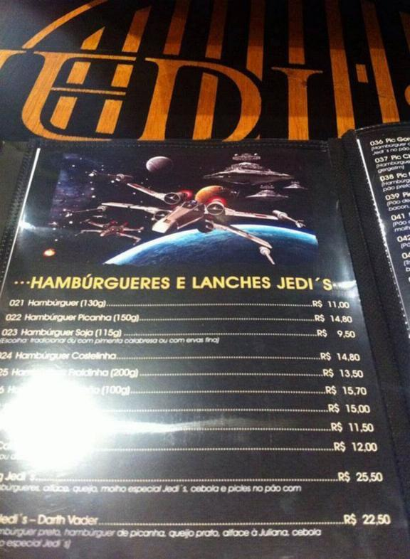 Restaurant Star Wars 1256