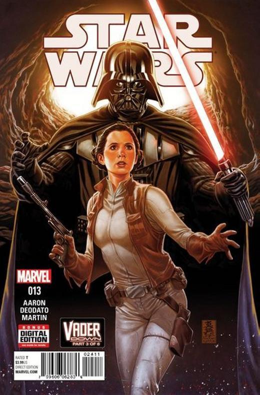 Marvel Comics US STAR WARS: VADER DOWN  1323
