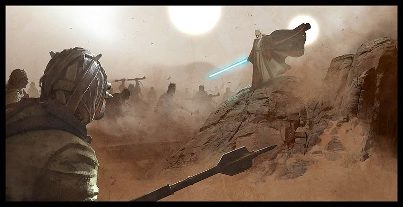 Artwork Star Wars by Benjamin Carré 1429
