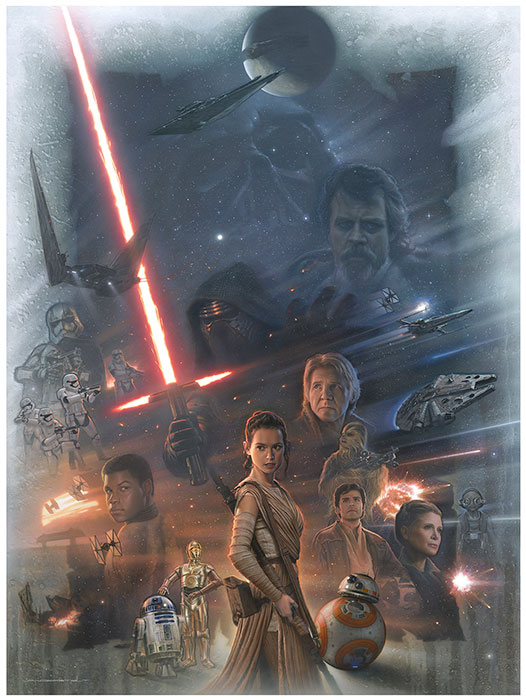 Art Show - Star Wars Celebration Europe Londres 2016 1431