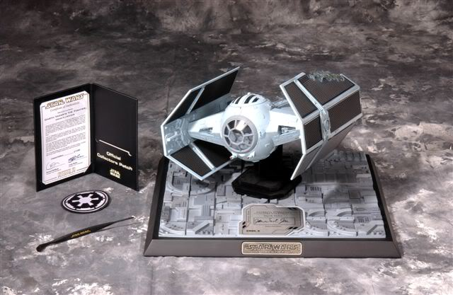 Code 3 - Tie Advanced X-1 Damaged - Die Cast Replica 15036110