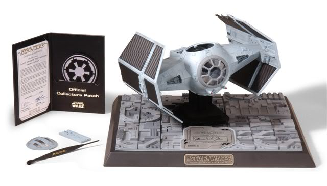 Code 3 - Tie Advanced X-1 Damaged - Die Cast Replica 15036410