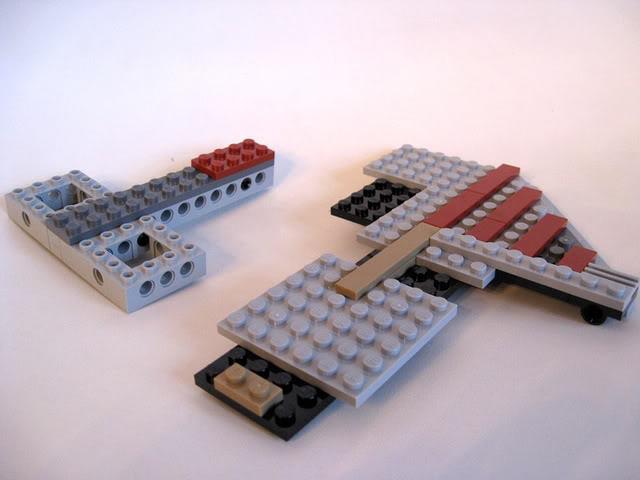 LEGO STAR WARS - 7964 - Frégate de la république 1534
