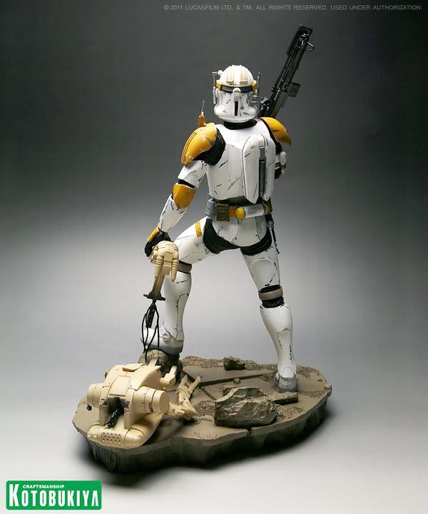Kotobukiya - Commandant Cody Artfx Statue 16831110
