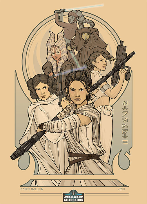 Art Show - Star Wars Celebration Europe Londres 2016 1720