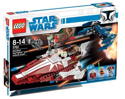 The Clone Wars: Ahsoka's Starfighter and Vulture Droid 1_s10