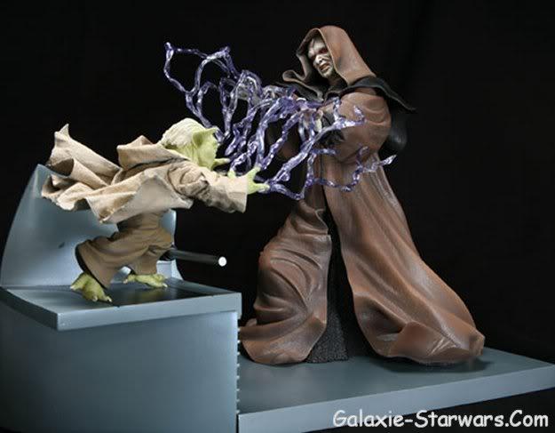 Kotobukiya - Sidious VS Yoda 20070910
