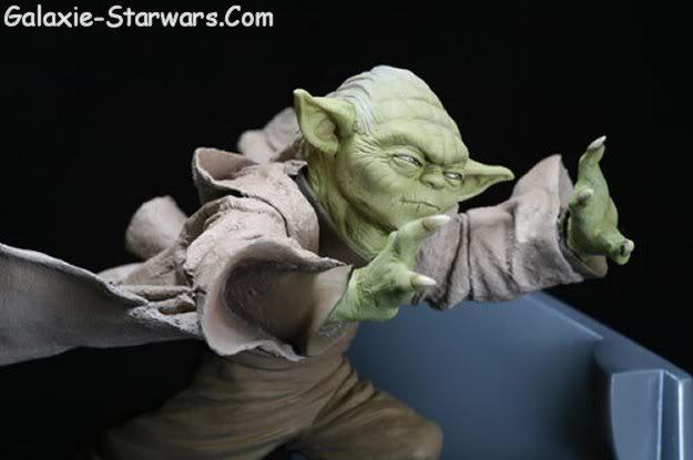 Kotobukiya - Sidious VS Yoda 20070911