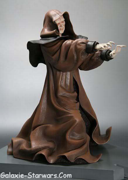 Kotobukiya - Sidious VS Yoda 20070913