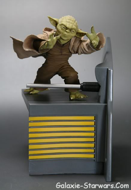 Kotobukiya - Sidious VS Yoda 20070914