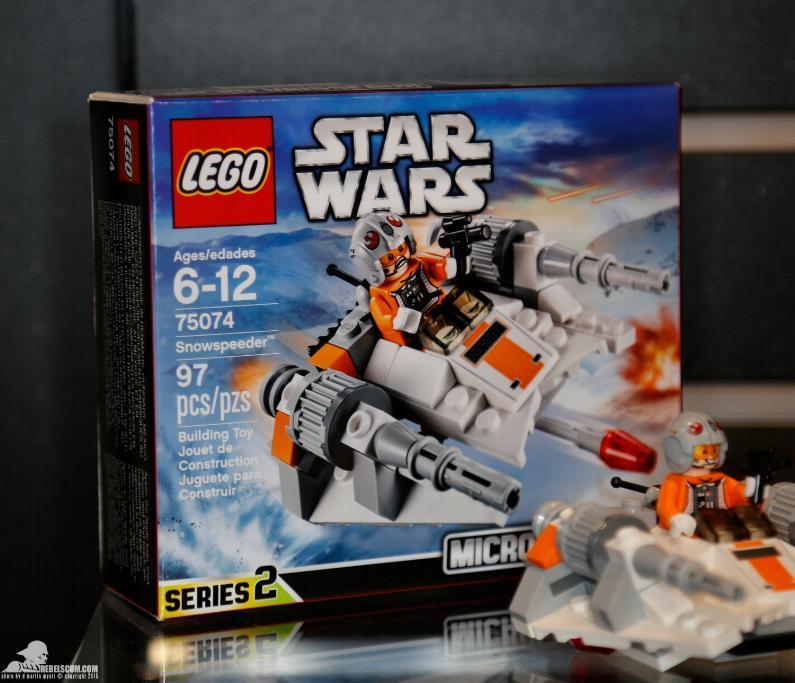 LEGO STAR WARS MICROFIGHTERS - 75074 - Snowspeeder 2015-i14
