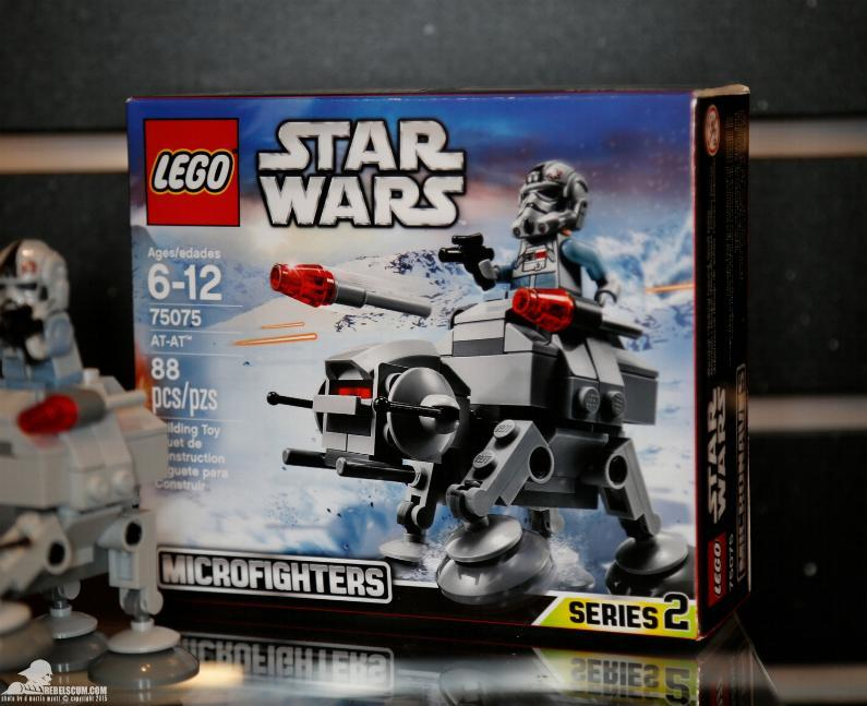 LEGO STAR WARS MICROFIGHTERS - 75075 - AT-AT 2015-i16