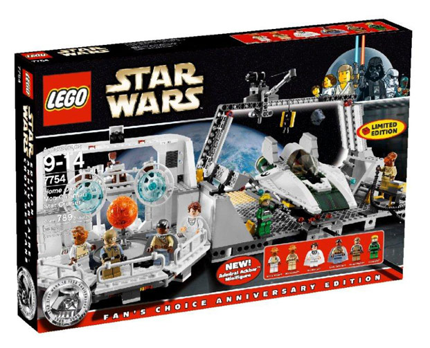LEGO STAR WARS - 7754 - Mon Calamari Star Cruiser 2023