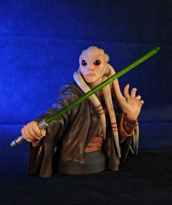 Gentle Giant - Kit Fisto mini bust  20880410