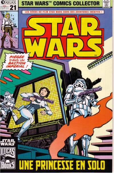 EDITION ATLAS - STAR WARS COMICS COLLECTOR #21 - #40 2111