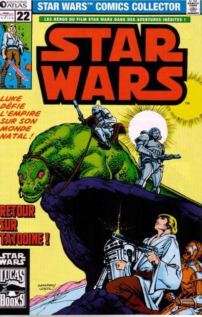 EDITION ATLAS - STAR WARS COMICS COLLECTOR #21 - #40 2211