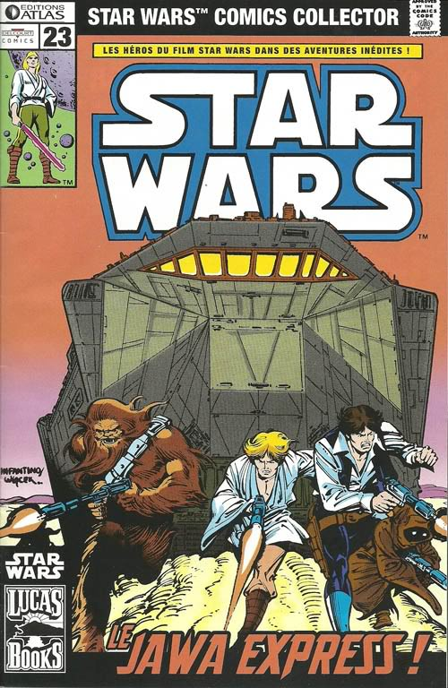 EDITION ATLAS - STAR WARS COMICS COLLECTOR #21 - #40 2310