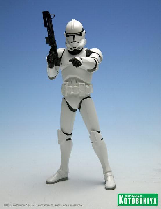 Kotobukiya - Clone Trooper 2 Pack  - Artfx+ 24684210