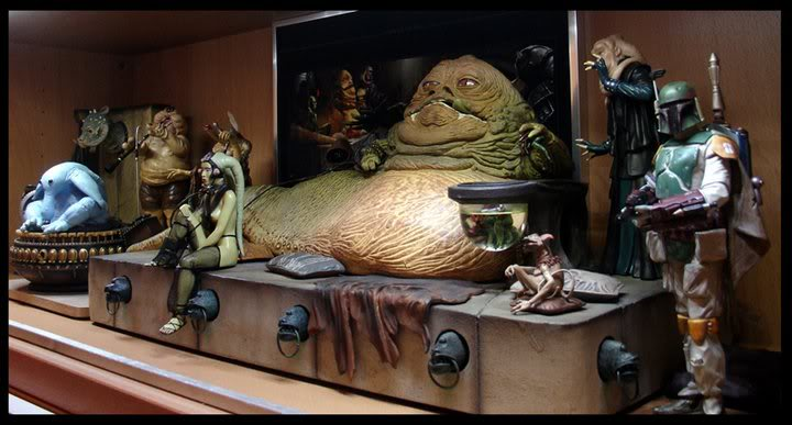 Gentle Giant - Bookends Jabba Palace ROTJ  - Page 2 24912910