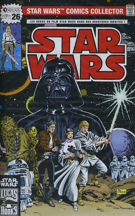 EDITION ATLAS - STAR WARS COMICS COLLECTOR #21 - #40 2610
