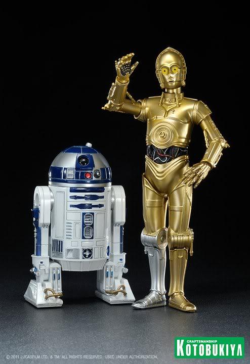 Kotobukiya - C-3PO & R2-D2 Two Pack - ARTFX+  26212410