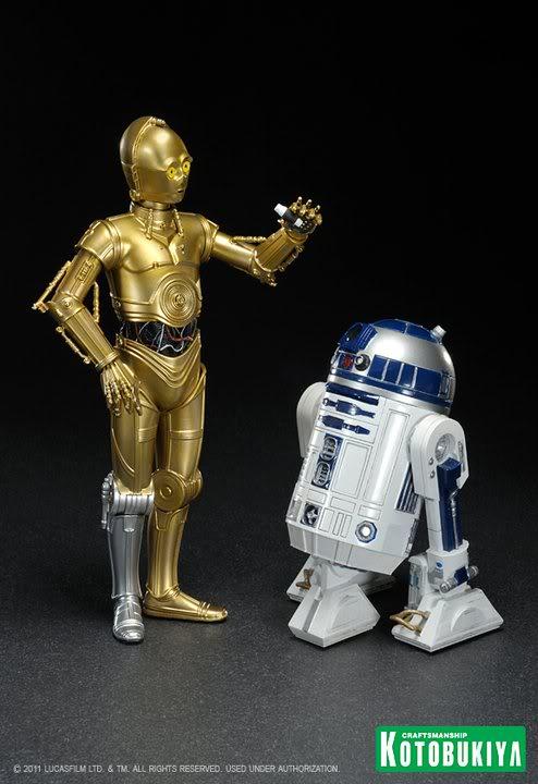 Kotobukiya - C-3PO & R2-D2 Two Pack - ARTFX+  26492410