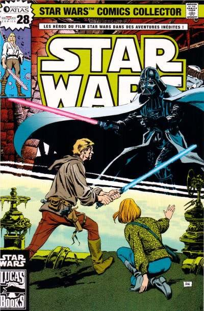 EDITION ATLAS - STAR WARS COMICS COLLECTOR #21 - #40 2810
