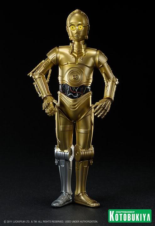 Kotobukiya - C-3PO & R2-D2 Two Pack - ARTFX+  28218410