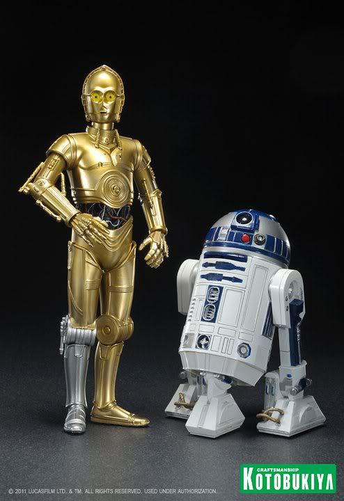 Kotobukiya - C-3PO & R2-D2 Two Pack - ARTFX+  28473410