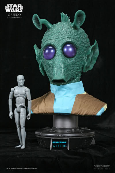 Sideshow Collectibles - Greedo 1/1 Buste 2911_p10