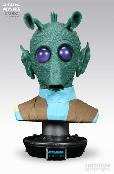 Sideshow Collectibles - Greedo 1/1 Buste 2911_p13