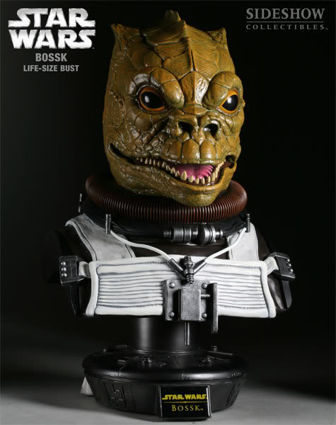 Sideshow Collectibles - Bossk Life Size  Bust 2916_p13