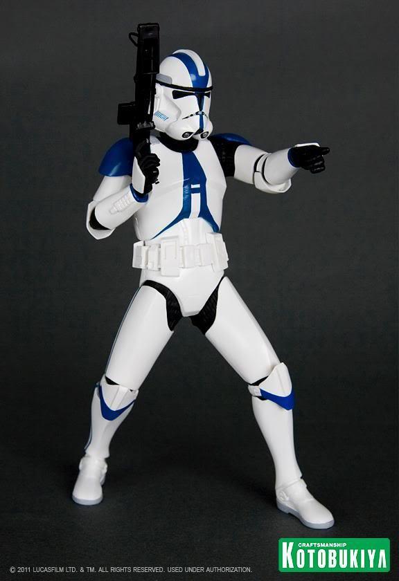 Kotobukiya - Imperial 501st Clone Trooper Two Pack ARTFX+ 29832810