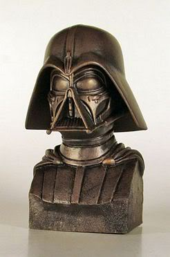 Gentle Giant - Darth Vader McQuarrie Bronze Bust 2_s12
