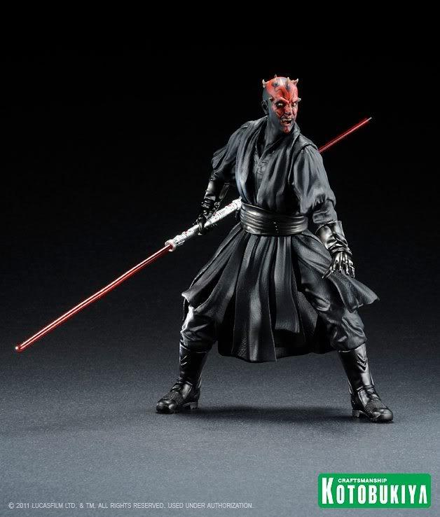 Kotobukiya -  Darth Maul The Phantom Menace ARTFX+ Statue 30237310