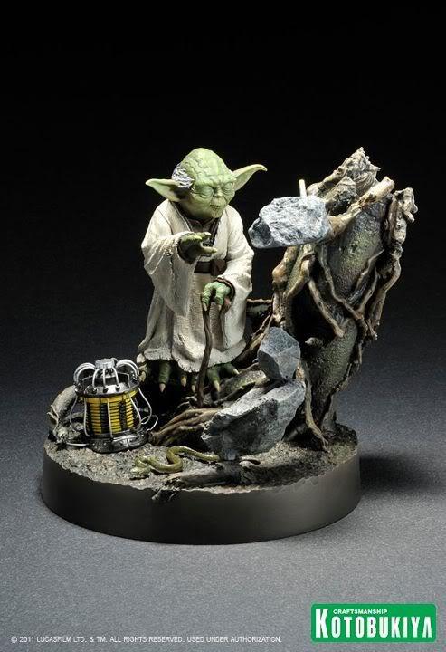 Kotobukiya - Yoda on Dagobah - ARTFX 30783410
