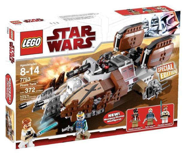 LEGO STAR WARS - 7753 PIRATE TANK 310