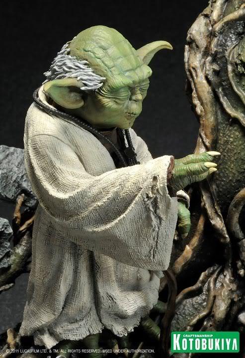 Kotobukiya - Yoda on Dagobah - ARTFX 31509210
