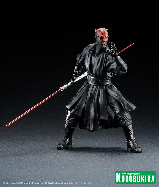 Kotobukiya -  Darth Maul The Phantom Menace ARTFX+ Statue 31608710