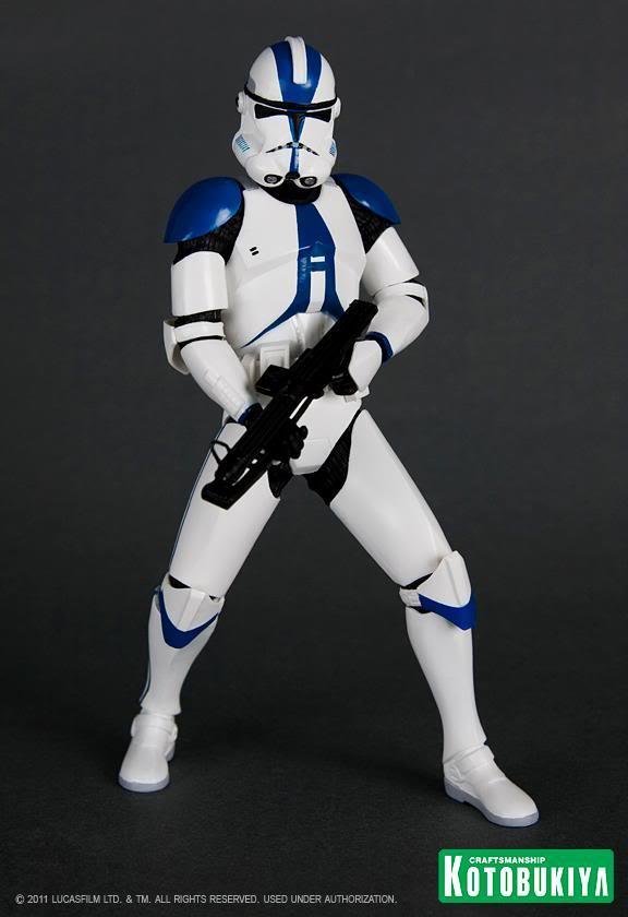 Kotobukiya - Imperial 501st Clone Trooper Two Pack ARTFX+ 31849810